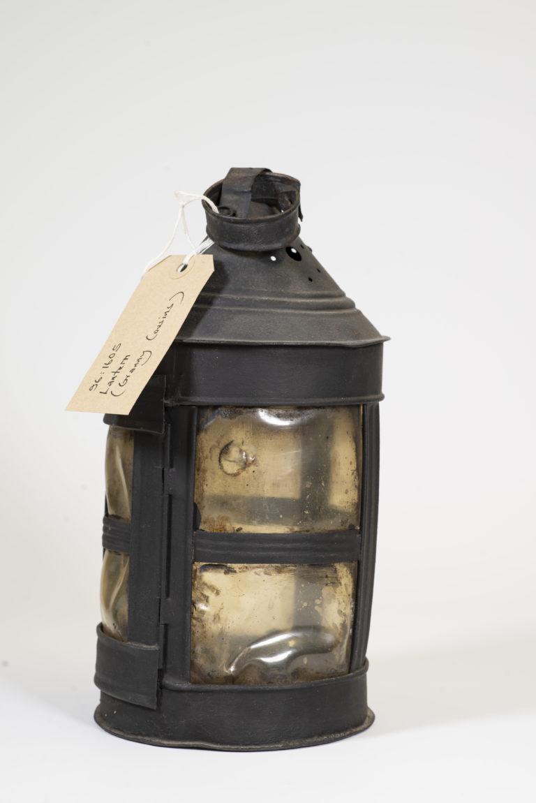 Replica Victorian lantern.