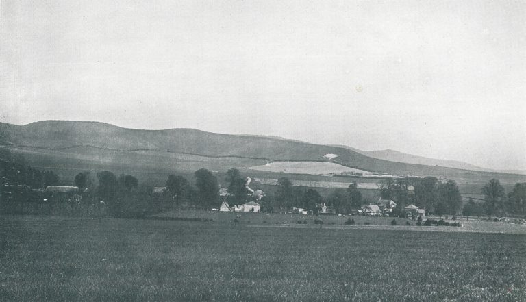 Photo showing view of All Cannings Cross, 1923.