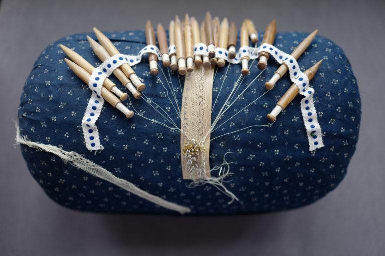 Downton lace pillow
